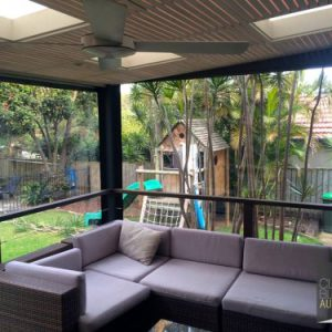 Clear Plastic PVC Blinds