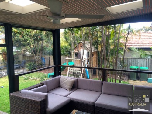 Quality Outdoor Clear Plastic PVC Blinds In Melbourne