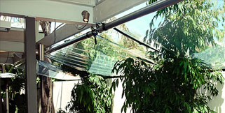 DROP AWNINGS & CRANK BLINDS